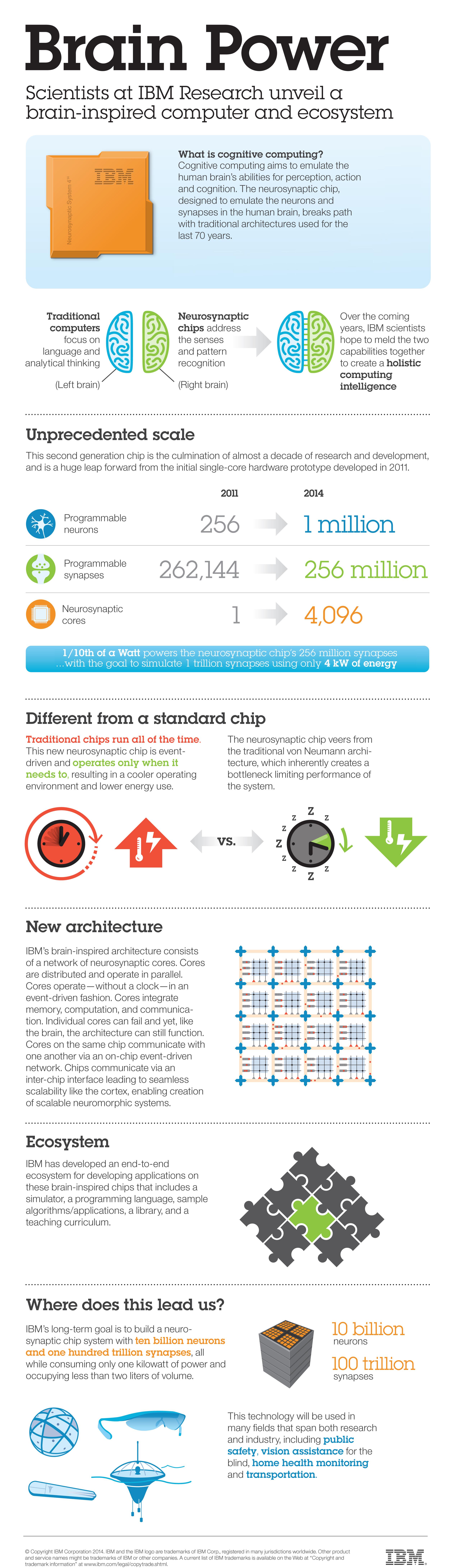 IBM presenta SyNAPSE il Chip che imita il cervello umano