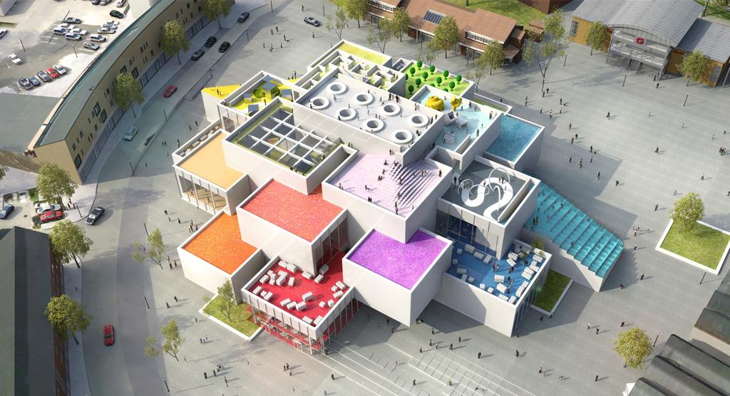 La casa fatta con i Lego è una realtà