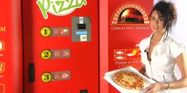 Let's pizza il distributore automatico di pizza