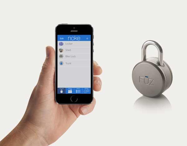 NOKE: Il lucchetto 2.0 che si apre con lo smartphone