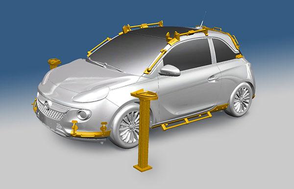 Le stampanti 3D facilitano l'assemblaggio delle Opel Adam
