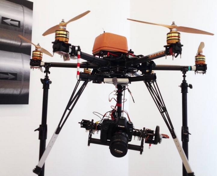 Tre Droni sorveglieranno i lavori di Expo 2015