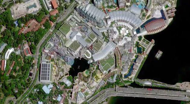 Fotografie ad alta risoluzione dal satellite