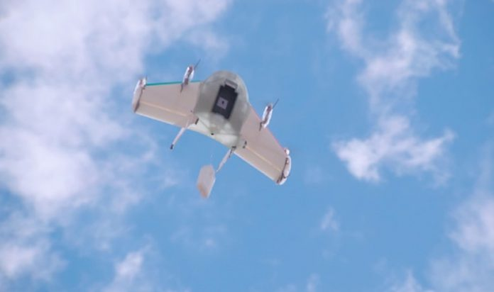 Google Drone - Project Wing