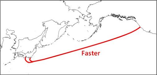 Google Faster collegherà Asia e America