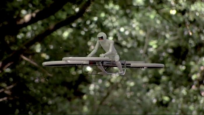 È un elicottero? no è una bici volante!