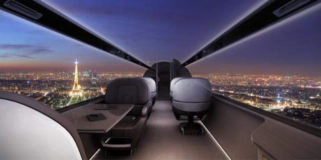 IXION l'aereo senza finestre… con vista all'esterno