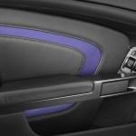Le Aston Martin Personalizzate da Q in mostra a Pebble Beach - particolare dello sportello