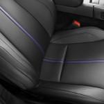 Le Aston Martin Personalizzate da Q in mostra a Pebble Beach - particolare sui sedili
