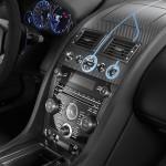 Le Aston Martin Personalizzate da Q in mostra a Pebble Beach - Interni della Vanquish Volante - Vanquish Volante dettaglio del cruscotto