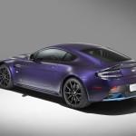 Le Aston Martin Personalizzate da Q in mostra a Pebble Beach - La v12 Vantage S coupé retro