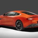 Le Aston Martin Personalizzate da Q in mostra a Pebble Beach - Il retro della Vanquish