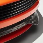 Le Aston Martin Personalizzate da Q in mostra a Pebble Beach - Particolare del frontale sulla Vanquish