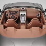 Le Aston Martin Personalizzate da Q in mostra a Pebble Beach - Interni della Vanquish Volante visti dall'alto