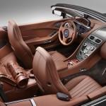 Le Aston Martin Personalizzate da Q in mostra a Pebble Beach - Interni della Vanquish Volante