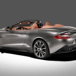 Le Aston Martin Personalizzate da Q in mostra a Pebble Beach - Interni della Vanquish Volante - Vanquish Volante vista posteriore
