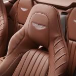 Le Aston Martin Personalizzate da Q in mostra a Pebble Beach - Interni della Vanquish Volante - Vanquish Volante dettaglio dei sedili