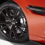 Le Aston Martin Personalizzate da Q in mostra a Pebble Beach - Interni della Vanquish Volante - Vanquish Volante dettaglio dei cerchi