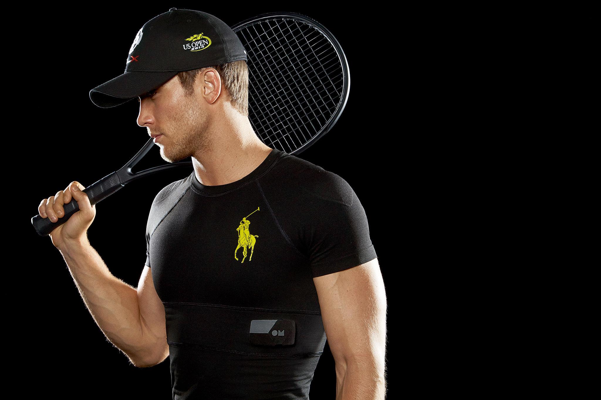 Tennis: la maglietta che monitora i battiti del cuore