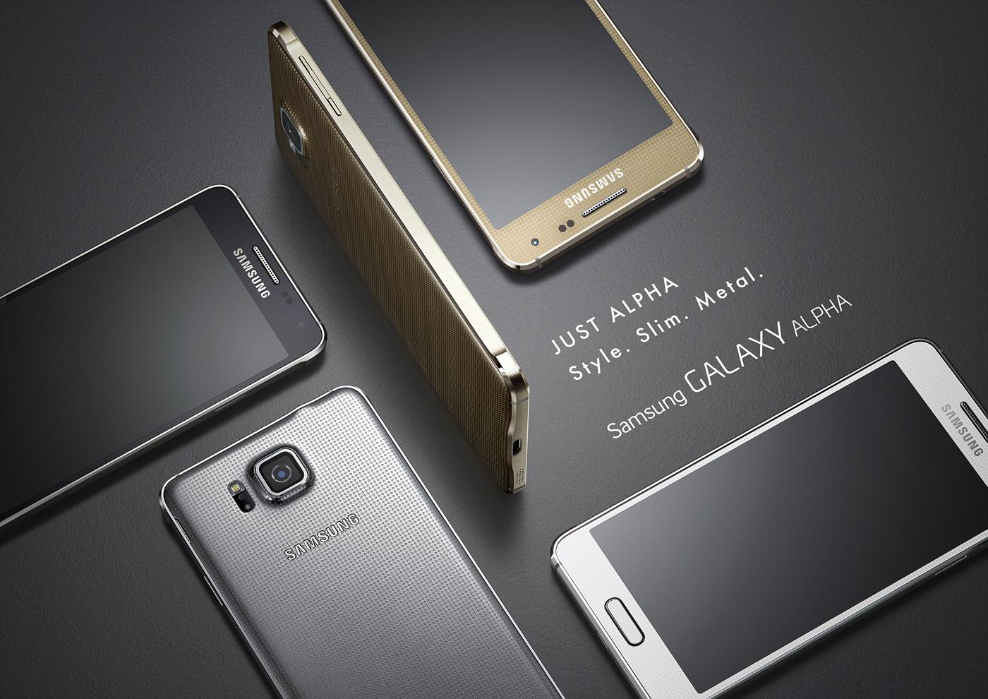Galaxy Alpha l'annuncio ufficiale di Samsung