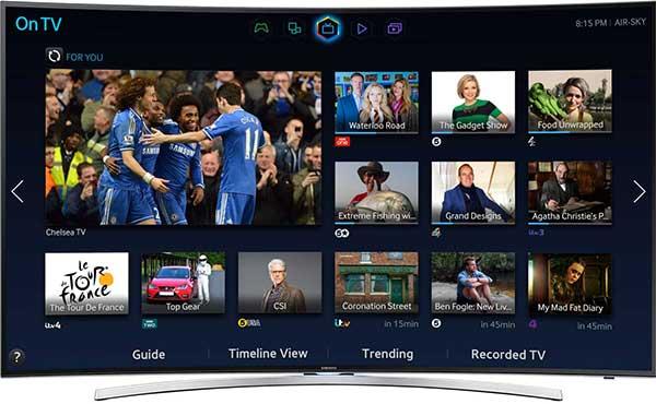 Il Samsung UE48H8000 è il più economico Curved TV sul mercato: poco più di mille euro per un 48 pollici