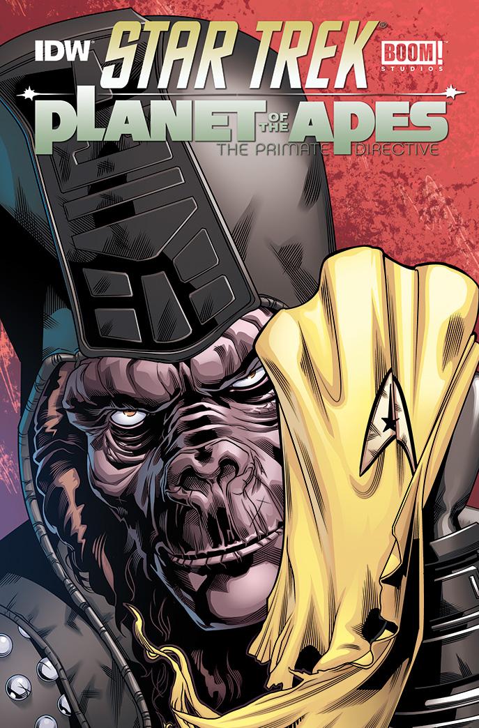 San Diego Comic 2014: Star Trek incontra il pianeta delle scimmie