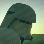 I caschi degli stoormtrooper dal sito Indie Revolver