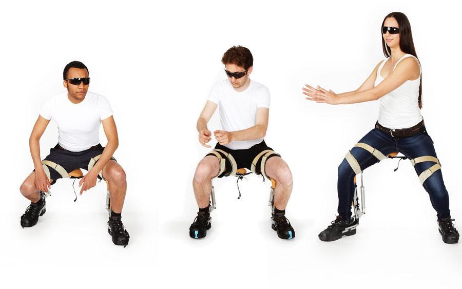 """La """"sedia senza sedia"""" per sederti come e quando vuoi"""