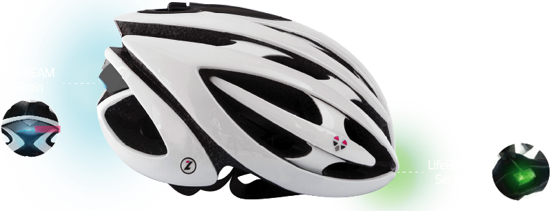 LifeBeam il casco intelligente per Ciclisti