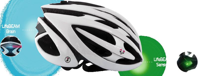 LifeBeam il casco intelligente per Ciclisti