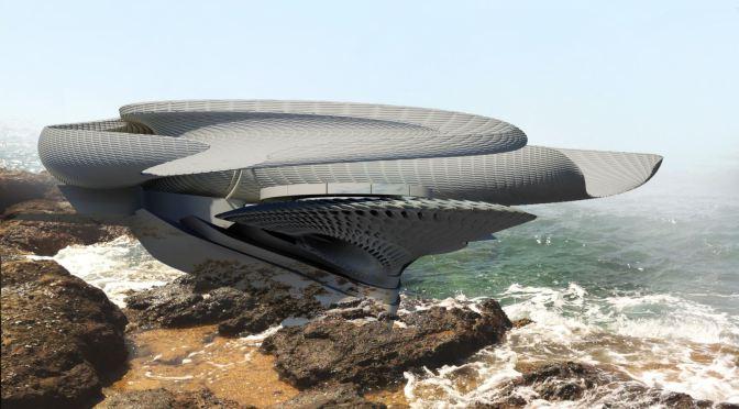 La casa che trae energia dalle onde del mare
