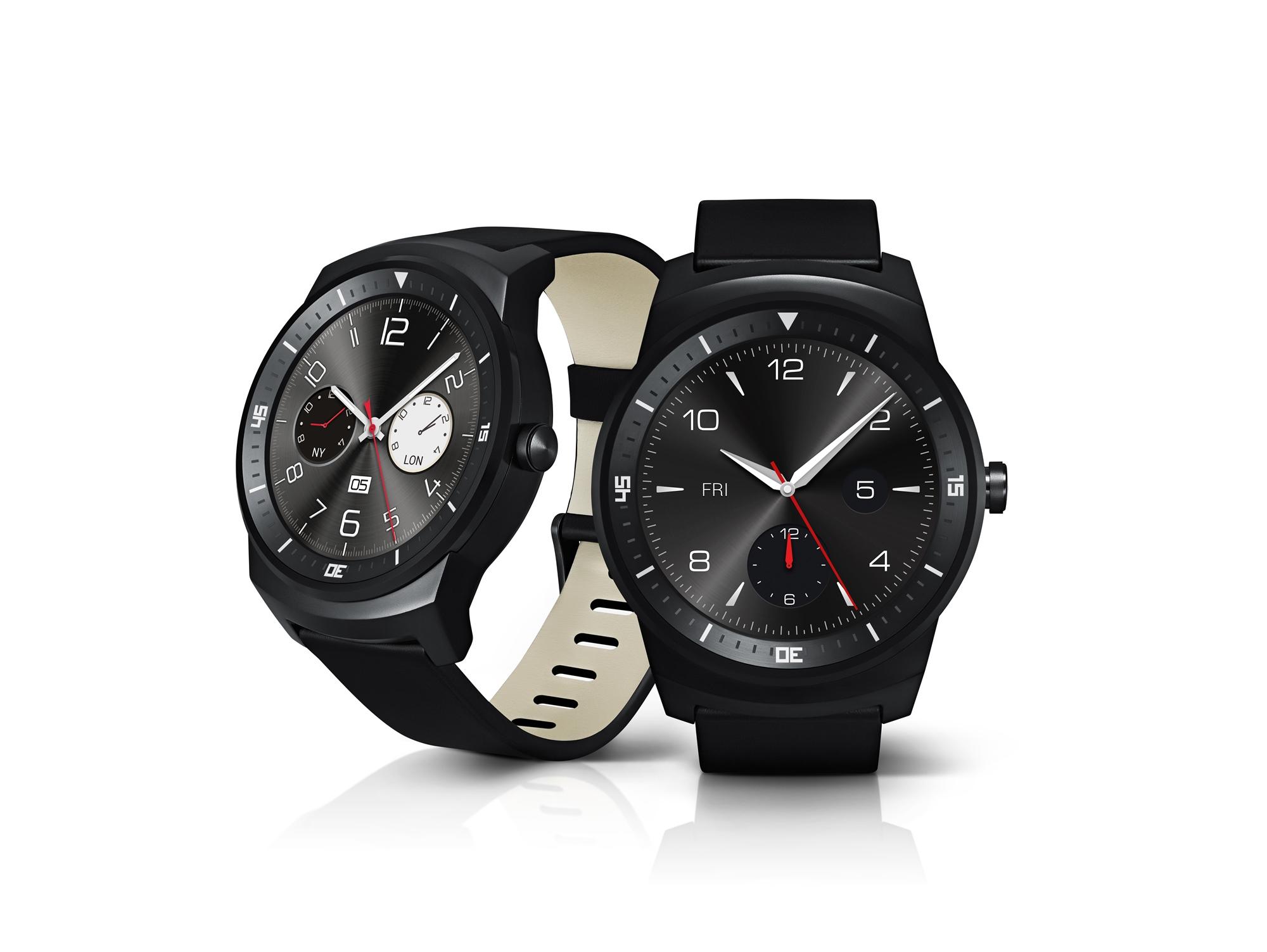 LG G Watch R uno sguardo da vicino