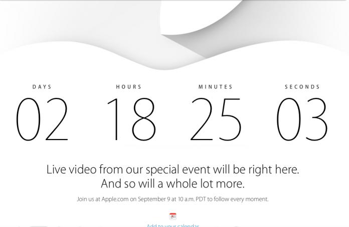 Evento Apple 9 Settembre