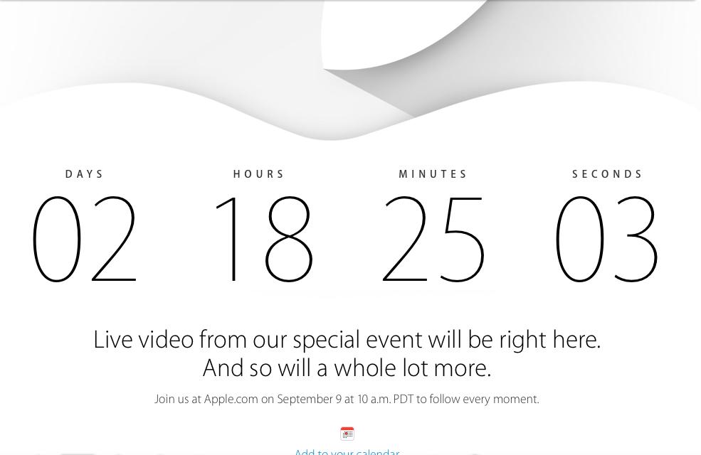 iPhone 6! iWatch! cosa dobbiamo aspettarci dal 9 Settembre?