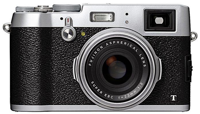 Fujifilm X100T vista frontale