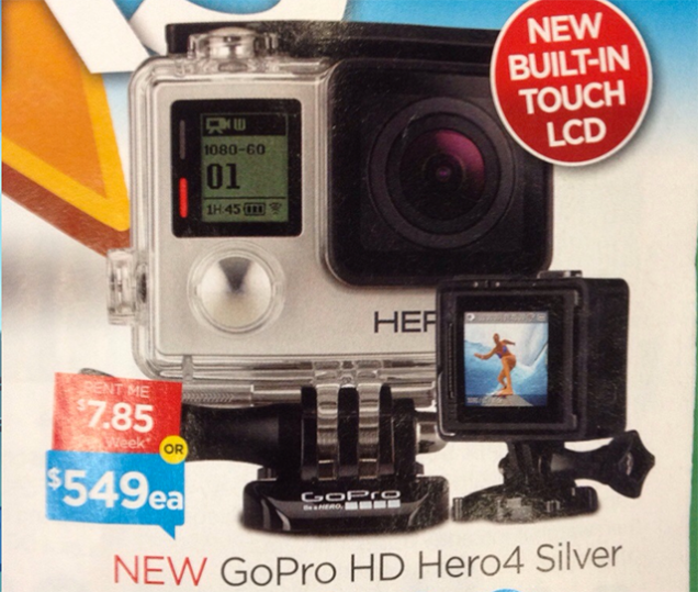 GoPro Hero 4 rumors e leak