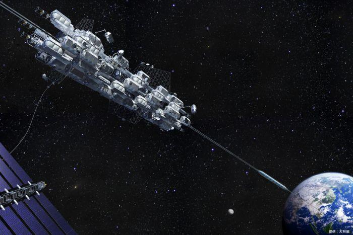 Una compagnia giapponese costruisce l'ascensore per lo spazio