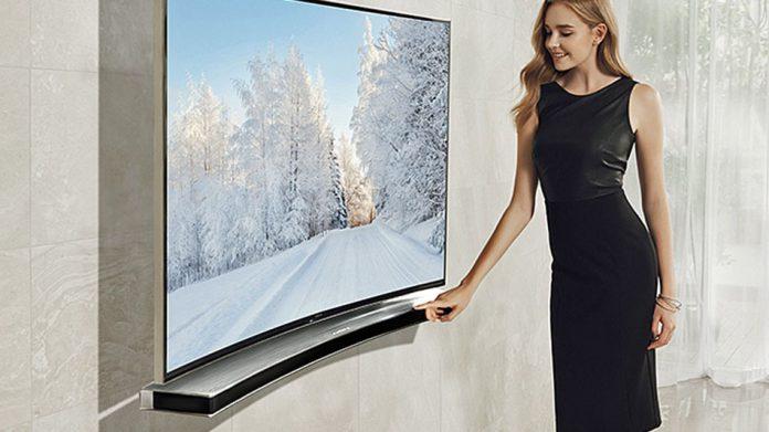 Samsung Svela gli speaker curvi