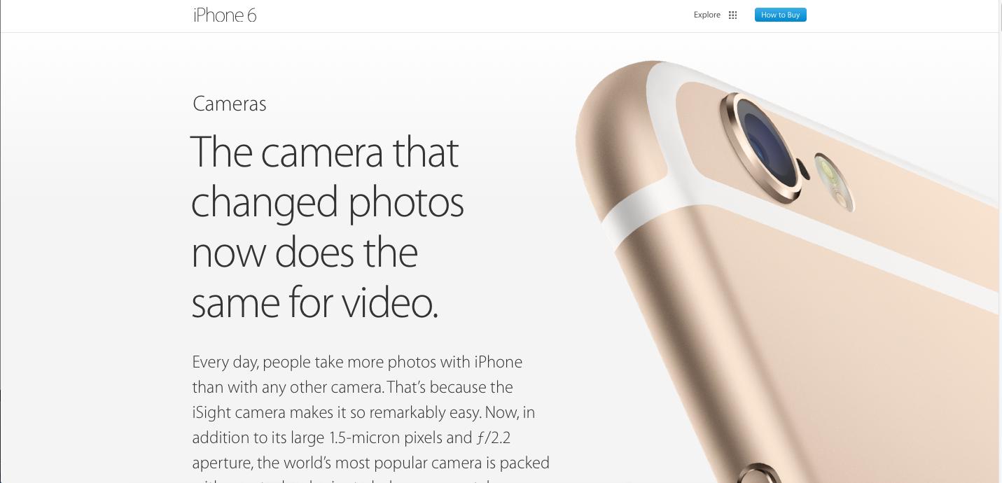 iPhone 6 e iPhone 6 plus, foto e video migliori?