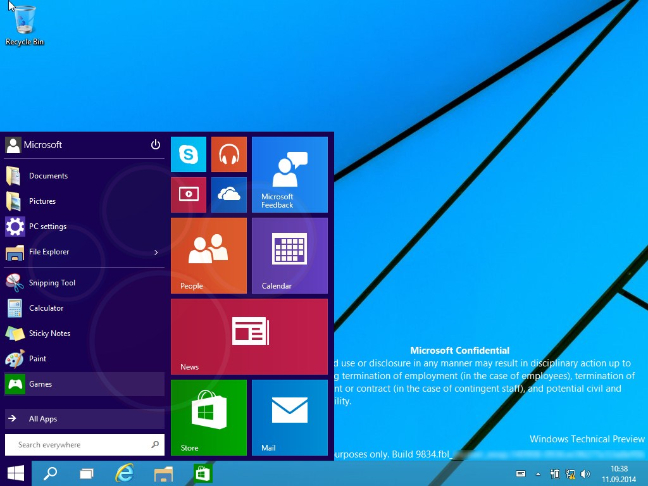 Windows 9 praticamente svelato. Ecco i video!