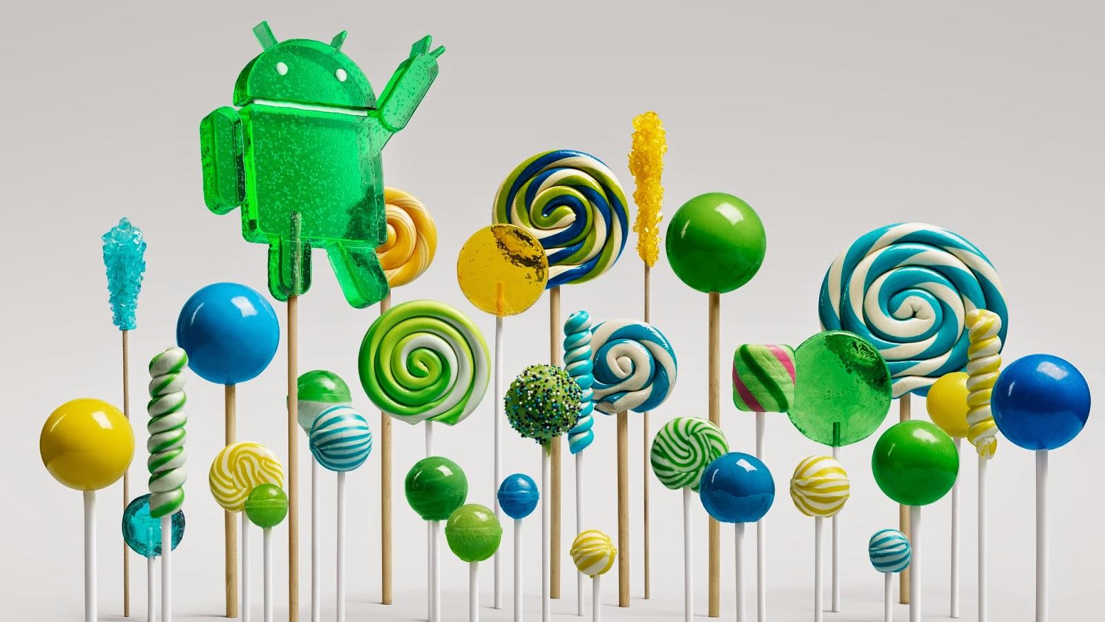 Google Android 5.0 si chiamerà Lollipop