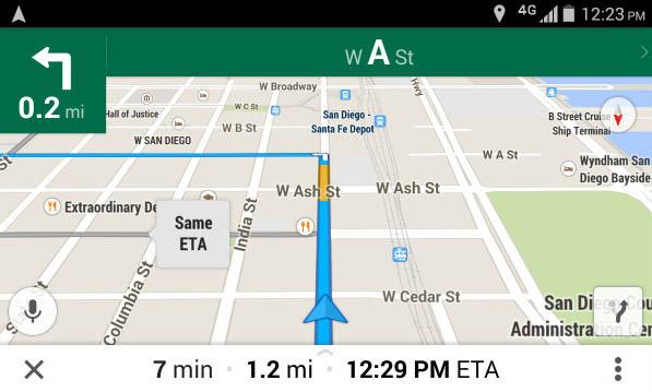 Attivare la visione in prima persona  sul Navigatore di Google Maps