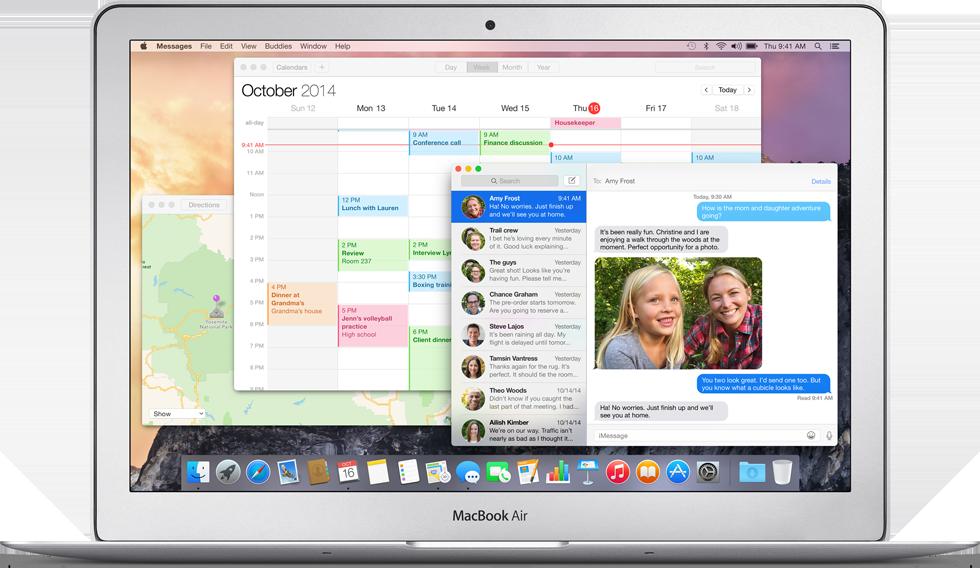 Apple Yosemite c'è e si può installare gratis subito