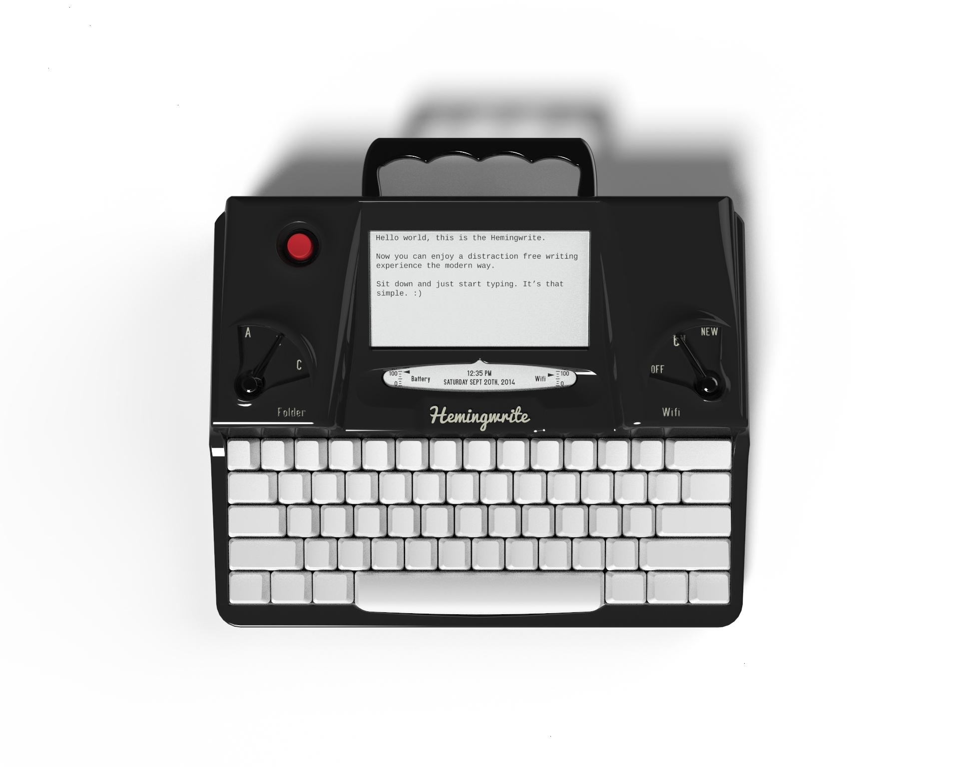 Hemingwrite la macchina da scrivere del nuovo millennio