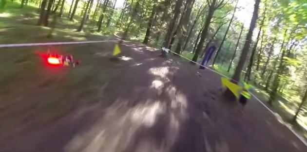 Ecco la corsa dei Droni!