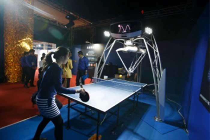 Da Omron il primo robot che gioca a Ping Pong