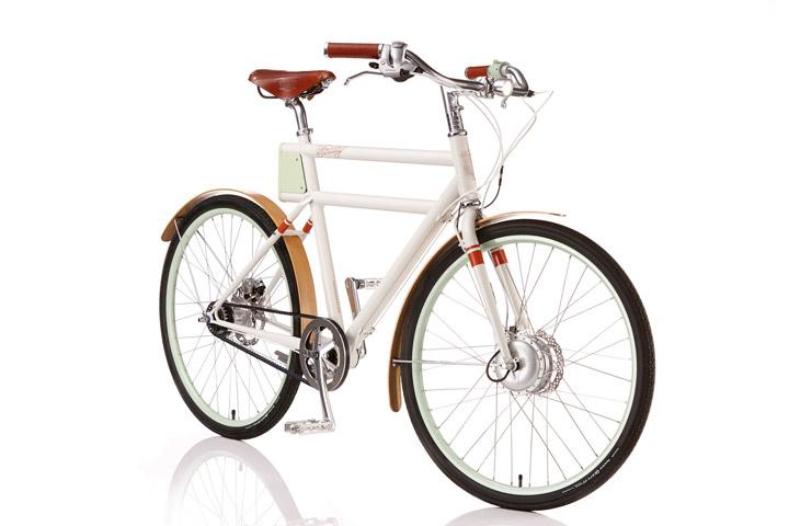 Faraday Porteur l'e-bike con l'aspetto di una bici classica