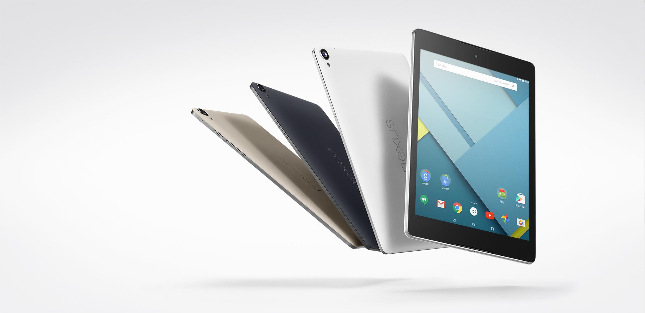 Google Nexus 9 disponibile in Italia. Caratteristiche e prezzo
