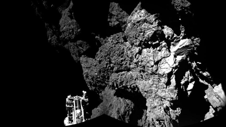 Philae missione compiuta, il lander è al riposo