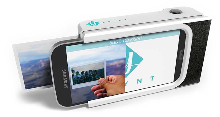 Prynt Case trasforma l'iPhone in una Polaroid